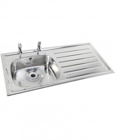 Ibiza HTM64 Inset Hospital Sink 923x500mm Right hand Drainer