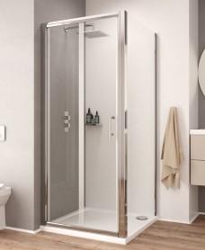 K2 700 Bifold Shower Shower Door - Adjustment 660 -720mm