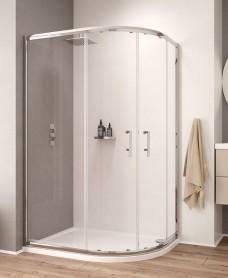 K2 1000x800 Offset Quadrant Shower Enclosure