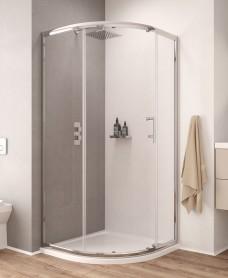 K2 900mm Single Door Quadrant Door