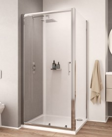 K2 1600mm Sliding Shower Door - Adjustment 1560 -1620mm