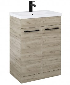 Porto Craft Oak 50cm Vanity Unit