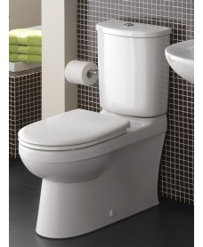 Twyford Galerie Fully Shrouded Close Coupled Toilet & Soft Close Seat