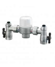 "Heatguard 1"" x 1.1/4"" Euromixer Thermostatic Group Mixing Valve"
