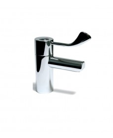 Intatherm Safe Touch Basin Mixer - Paddle Lever