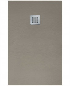 Slate Taupe 1800x700mm Rectangular Shower Tray & Waste