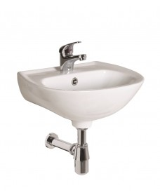 Strata 450 Round Fronted Basin 1TH
