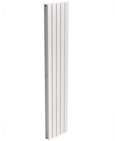 Piatto Flat Tube Designer Radiator Vertical 1800 x 380 Double Panel White