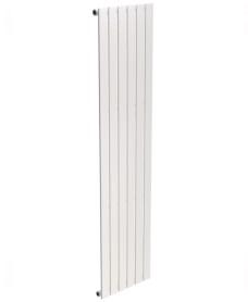 Piatto Flat Tube Designer Radiator Vertical 1800 x 452 Single Panel White