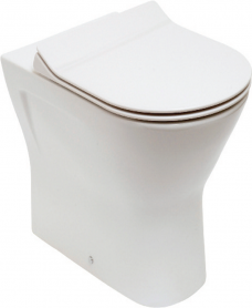 Resort Comfort Height Back To Wall Pan & Slim Soft Close Seat