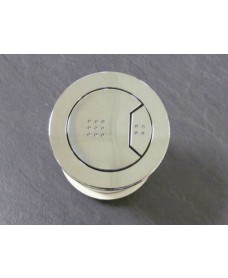 Kara 50mm Chrome dual flush push button