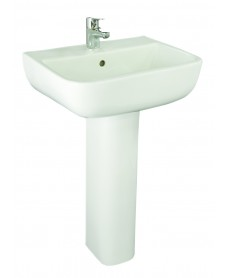 Series 600 Basin 52cm and Pedestal