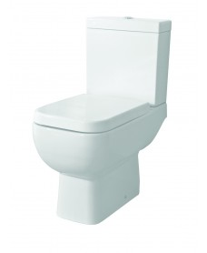 Series 600 Close Coupled Toilet & Slim Soft Close Seat - Short Projection - 595mm