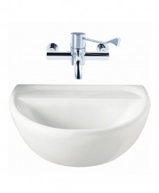 Sola Medical 500 Washbasin No Tap Hole