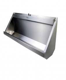 Fife Trough Urinal Concealed Pipework 1200mm RH Outlet
