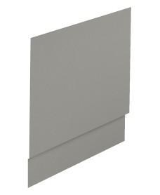 Scandinavian End Bath Panel 800mm Arctic Grey Matt
