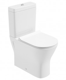 Scala Fully Shrouded WC Comfort Height & Delta Slim Seat