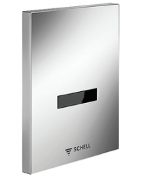 SCHELL Urinal control EDITION E chrome version - mains operated