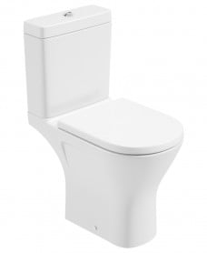 Scala Close Coupled Open Back WC Comfort Height & Delta Seat