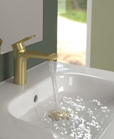 Scope Gold Basin Mixer