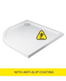 Kristal Low Profile 1200X900 Quadrant LH Shower Tray - Anti Slip  with FREE shower waste