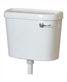 Lever cistern & fittings 6 litre single flush - bottom supply