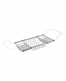 Stockton Bath Rack 50x210x640-820mm Chrome