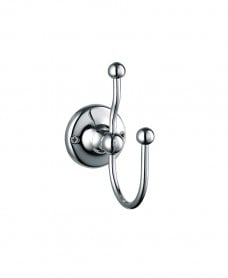 Stockton Traditional Double Robe Hook
