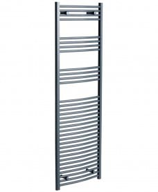 Sonas 1800 x 500 Curved Towel Rail - Anthracite