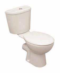Strata Close Coupled Toilet and Soft Close Seat