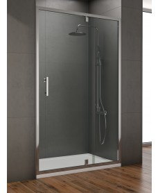 Style 1000mm Inline Pivot Shower Door - Adjustment 950- 990mm