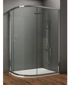 Style 900x800mm Single Door Offet Quadrant Enclosure  - Adjustment 900 - 800mm