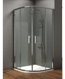Style 1000mm Double Door Quadrant Enclosure - Adjustment 960 - 980mm