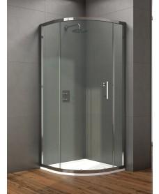 Style 1000mm Single Door Quadrant Enclosure - Adjustment 960 - 980mm