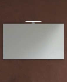 1000mm x 700mm Mirror & 450mm Pandora Chrome Light