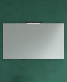 1000mm x 700mm Mirror & Veronica Black Light