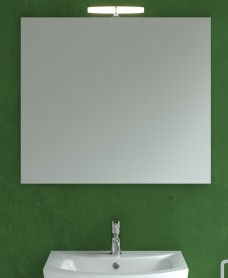 800mm x 700mm Mirror & Eva Light