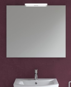 600mm x 700mm Mirror & 300mm Irene Light