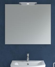 800mm x 700mm Mirror & Nikita Light