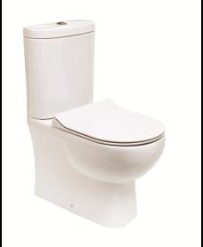 Sigma Fully Shrouded Close Coupled WC & Delta Slim Seat