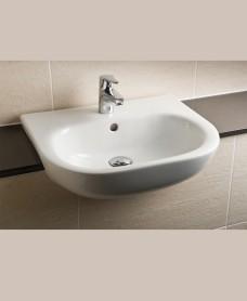 Sigma Semi Recessed 52cm Basin 1TH