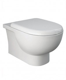 Sigma Rimless Wall Hung WC & Delta Seat