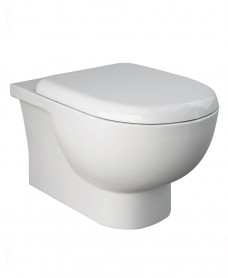 Tonique Wall Hung RIMLESS Toilet & Soft Close Quick Release Seat