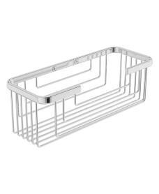 Cora Wire Soap Basket Chrome
