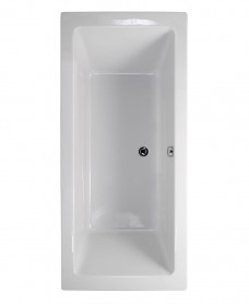 Pacific Endura Double Ended 1800x900mm Bath