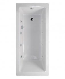 Pacific Single Ended 1700x750mm 8 Jet Bath