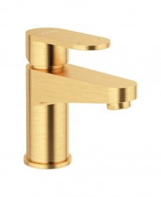 Norfolk Eco Flow Basin Mixer Brushed Gold