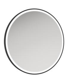 Astrid Beam Illuminated Metal Frame Round 800x800mm Mirror