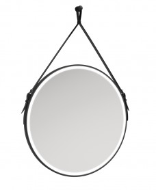 Astrid Style Rope Feature Illuminated Round 800x800mm Mirror