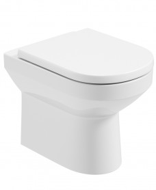 Vienna Back To Wall Rimless WC - Soft Close Seat